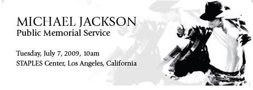 "Michael Jackson's Memorial Service: Free Online Tickets, ""Broadcast Live Around The World"""
