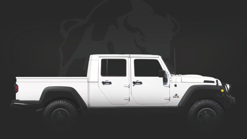 The Jeep Brute Double Cab: You know, for families!