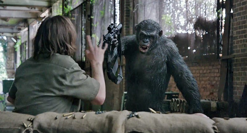 Dawn of the Planet of the Apes Is the Most Upsetting Dystopia of All