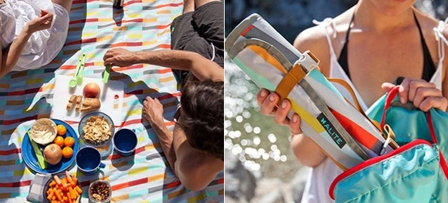 This Waterproof Picnic Mat Won't Budge, Even on Windy Days