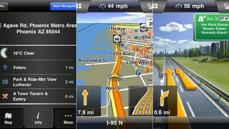 Garmin Navigon, Skitch, and More
