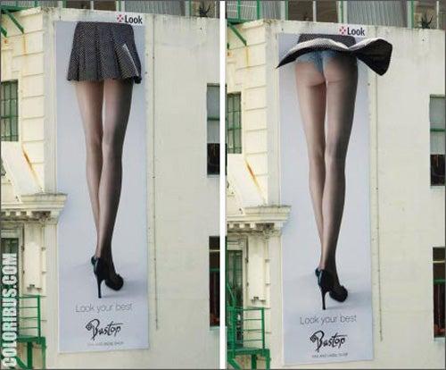 Ten Surprisingly Graphic Street Advertisements