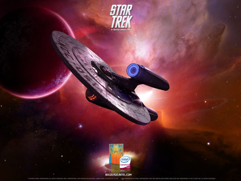 Desktop Wallpapers That Give Away The Enterprise's Secrets