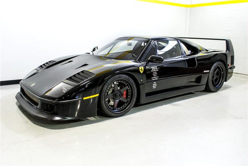 The Fast N' Loud Ferrari F40 is up for auction
