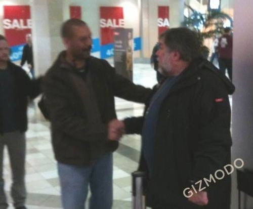Steve Woz Is Already Waiting in Line for an iPad
