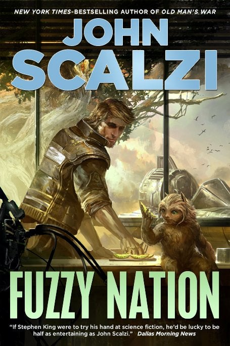 Fuzzy Nation by John Scalzi: Humans, Aliens, and Lawyers