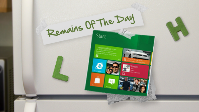 Remains of the Day: Windows 8 Consumer Preview Launches Feb. 29th