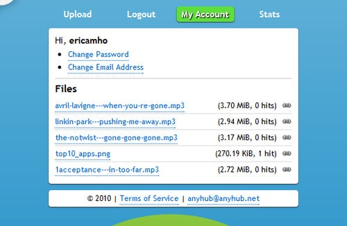AnyHub Is a No-Fuss File Uploader