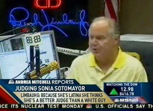 MSNBC's Limbaugh Obsession Starting to Affect Their Spelling Abilities