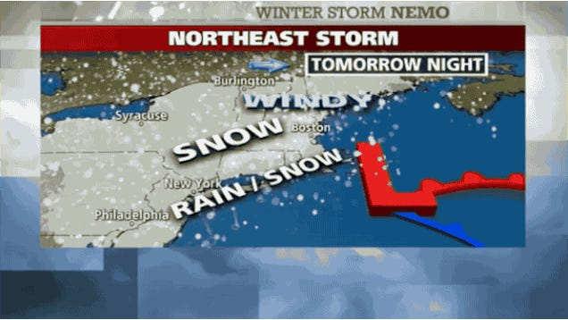 Everything You Need to Know About the Massive Snowstorm Hitting the East Coast Tomorrow