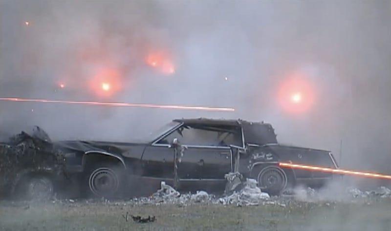 150 Machine Guns, One Cadillac