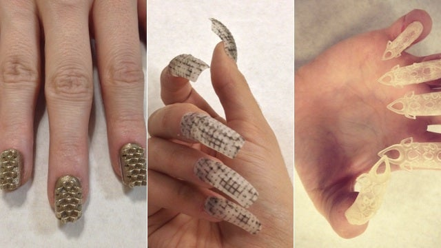 3D-Printed Nails Are Way Crazier Than Your Typical Press-Ons