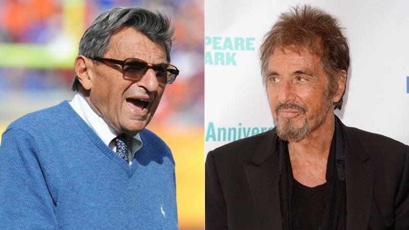 Al Pacino Will Play Joe Paterno In A Proposed Movie Based On Joe Posnanski's Book