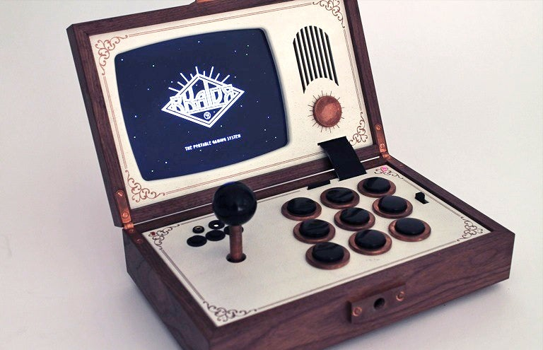How Could You Not Lust Over this Portable Wooden Arcade Box?