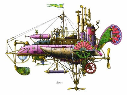Fanciful submarines for your tinkering underwater civilization