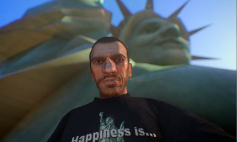 Mod Brings Selfies to GTA IV