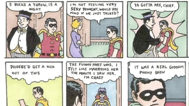 What if Batman's sidekick starred in The Catcher in the Rye?