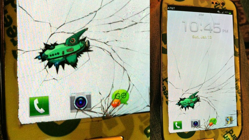 If Your Phone's Screen Shatters, This Is the Best Background You Can Possibly Use