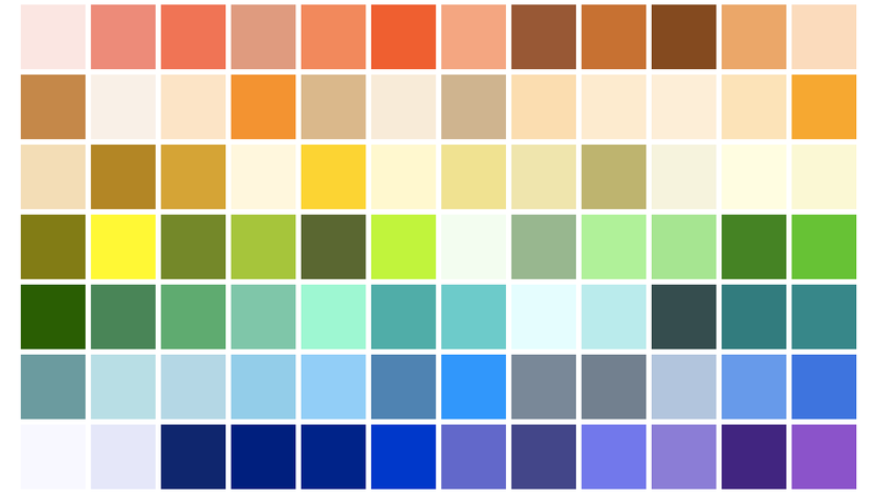 Explore The Smithsonian's Online Design Museum Through Color