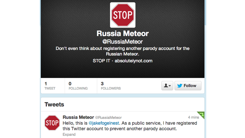 Here's How To Stop a Horrible Parody Twitter Account Before It Starts