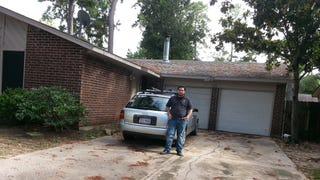 I bought a garage (with built in house) whooo!