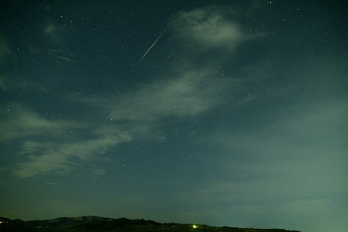 Perseid Meteors Shower the Sky