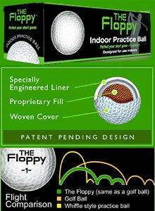 'The Floppy' Indoor Golf Balls