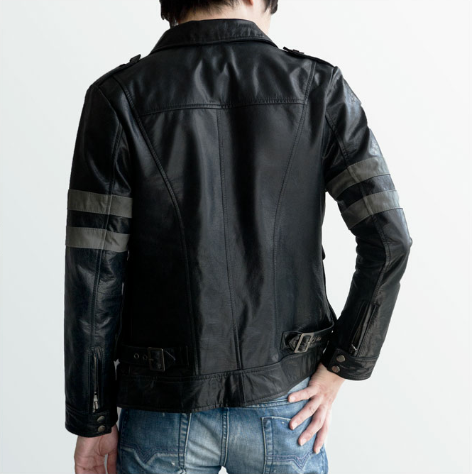 Ridiculously Expensive Resident Evil Jacket's Ridiculous Poses