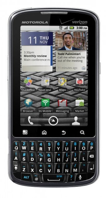 Motorola Droid Pro: It's Like a BlackBerry Impregnated by Android