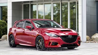 I desperately want the new Mazdaspeed3 to look like this and have AWD...