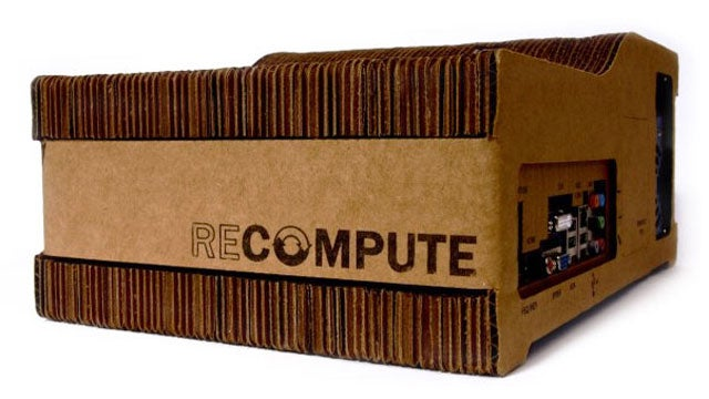Recompute Is an Environmentally Friendly Cardboard Computer