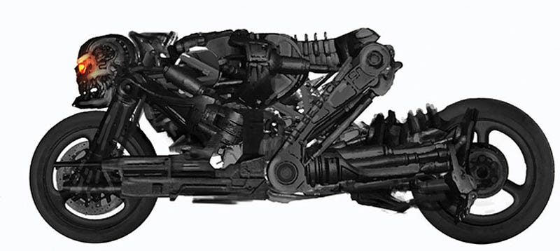 The Terminator Motorcycle Could Have Been Even Worse