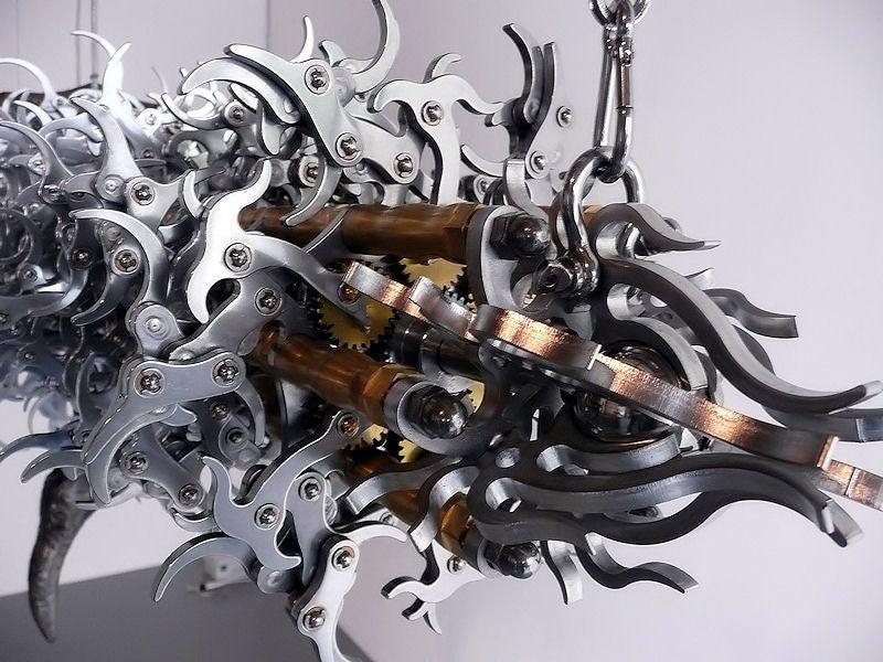 Anima Machines Robotic Art is Freakishly Organic