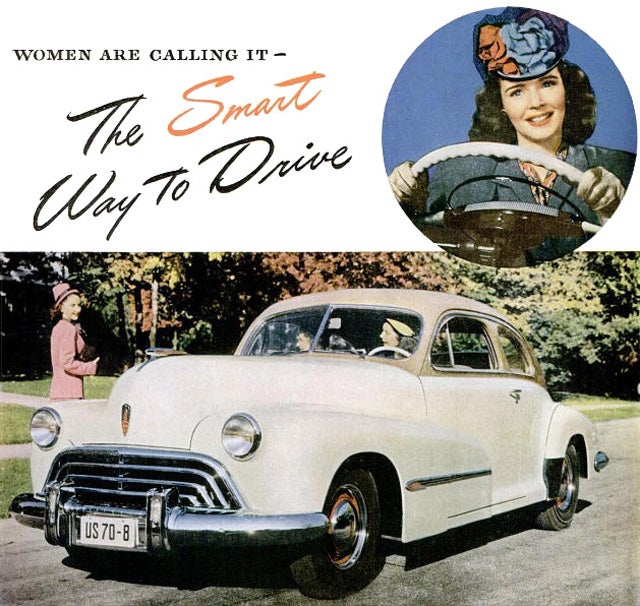 How sexist marketing sold America on the automatic transmission