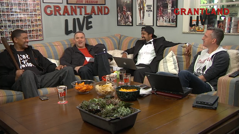 """Hey, Grantland Is Streaming Live From Bill Simmons's """"Man Cave"""""""