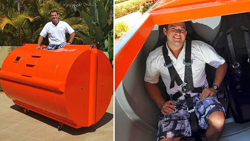 Survival Pod Lets You Ride Out a Tsunami in Relative Comfort