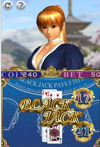 Tecmo Deals iPhone DoA Kasumi Blackjack