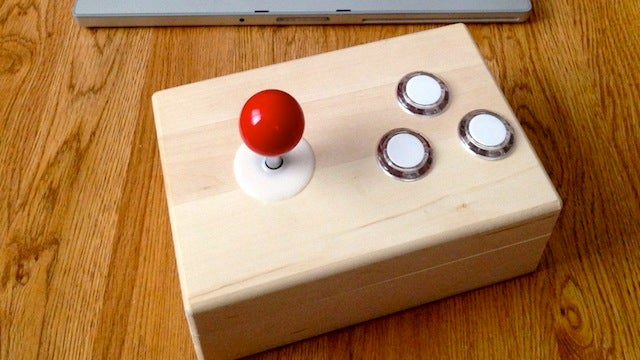 DIY Bluetooth Arcade Stick Pairs with Any PC, Plays All Your Games