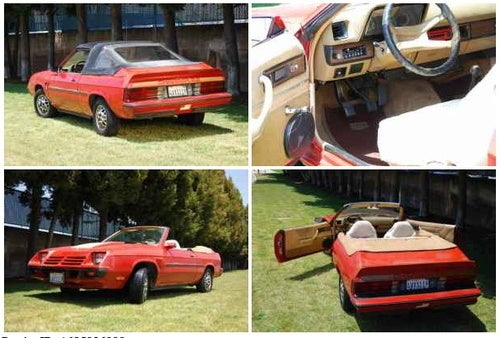 Custom 1982 Charger Wants You to Drop Your Top for $5,200!