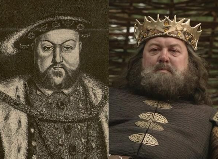 Game Of Thrones Characters And Their Historical Doppelgangers