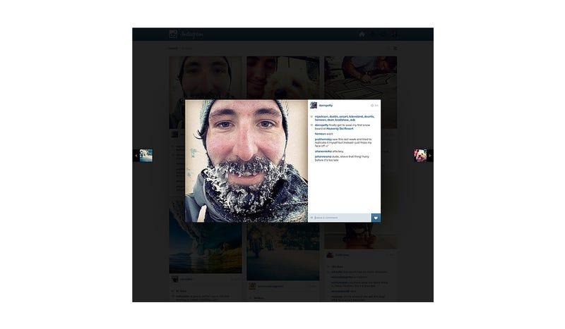 Rethinking Instagram (On the Web)