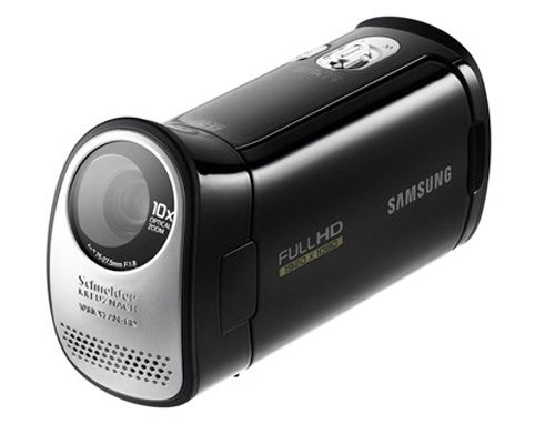 Samsung's HMX-T10 Camcorder Has Full HD and 20-Degree Slanted Lens
