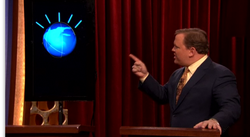 Andy Richter Finally Destroys Watson, the IBM Super-Computer