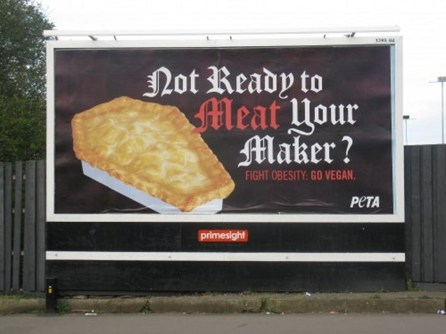 PETA's Latest Pro-Vegan Campaign Involves Fat-Shaming Dead People