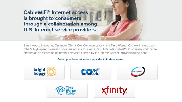 Subscribe to Cable Internet? Cable Providers Are Teaming Up to Give You Free Wi-Fi All Over Town