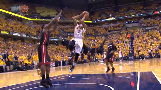 Let's Watch LeBron's Block In Super-Slow-Motion