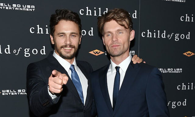 James Franco Is Living With a Man