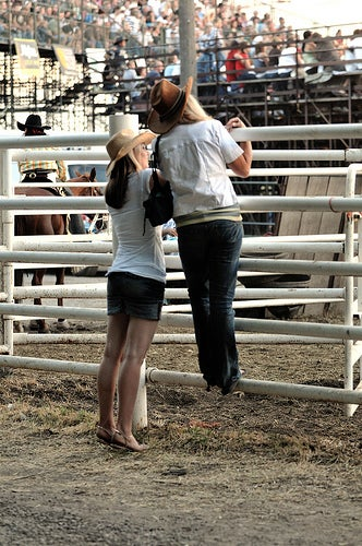 Sex With A Professional Bull Rider: Not Eight Seconds