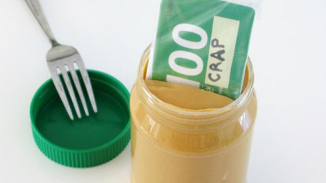 Store Credit Cards in Peanut Butter to Avoid Impulse Shopping