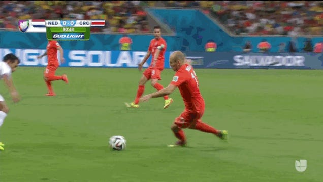 Robben Almost Strikes Again; Netherlands And Costa Rica Go To Extra Time